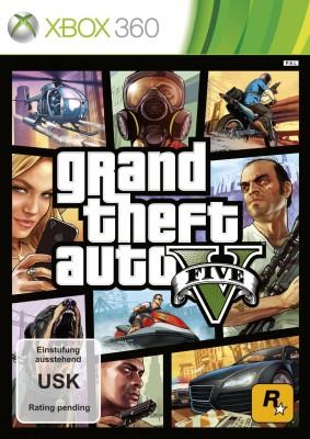 GTA 5 Xbox 360 Verpackung