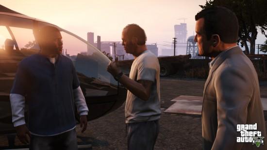 Die drei Hauptakteure in der ersten gemeinsamen Mission